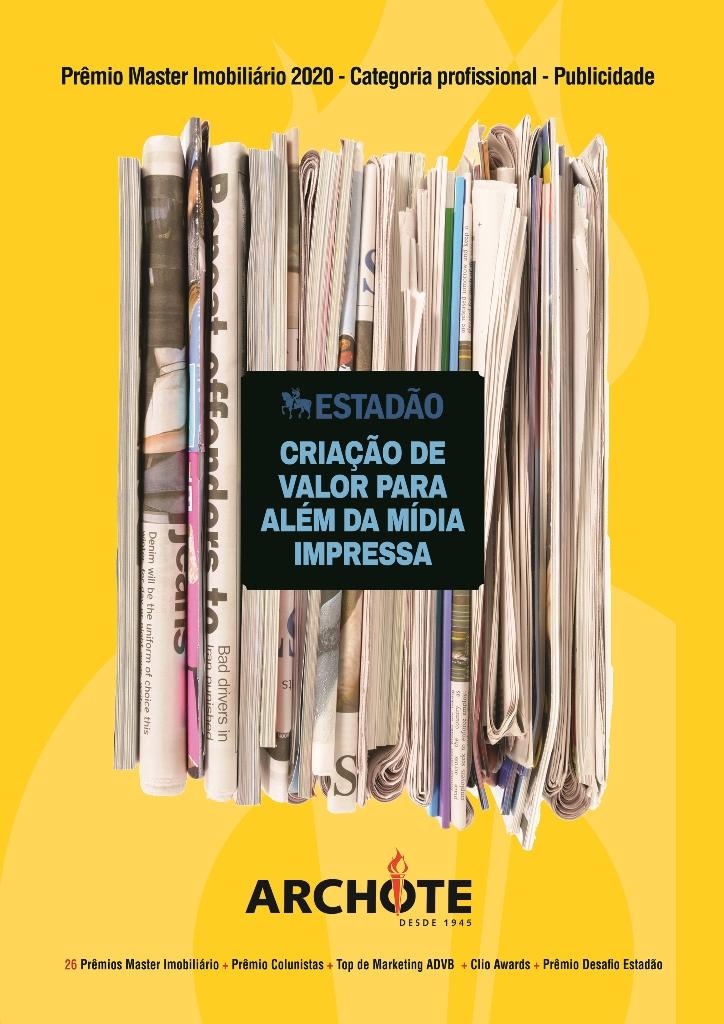 Estadão - Criação de valor para além da Mídia Impressa