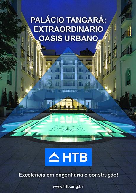 Palácio Tangará: extraordinário oásis urbano SP