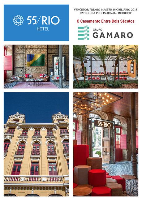 55/Rio Hotel – Um casamento de dois séculos