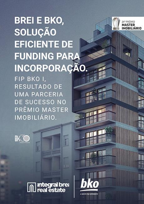 Solução eficiente de funding para incorporação. FIP I - BKO